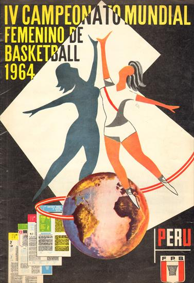 IV CAMPEONATO MUNDIAL FEMENINO DE BASKETBALL 1964 (OFFICIAL REPORT)