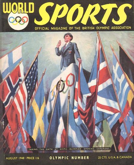 WORLD SPORTS OLYMPIC NUMBER 1948