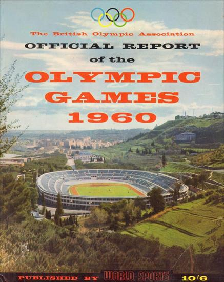 OLYMPIC GAMES 1960 BRITISH OLYMPIC ASSOCIATION OFFICIAL REPORT
