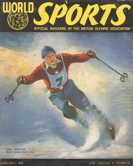 WINTER OLYMPIC WIZARDS. PREVIEW OF THE FIFTH WINTER OLYMPICS ST. MORITZ 1948