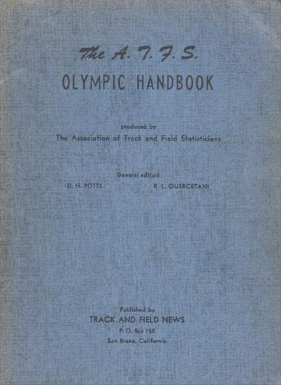THE A.T.F.S. OLYMPIC HANDBOOK 1952