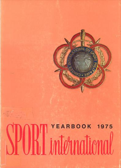 SPORT INTERNATIONAL YEARBOOK 1975 (CISM / MILITARY SPORTS)
